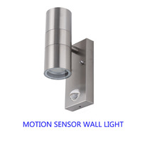 Motion sensor Led Wall Light PIR induction Outdoor Led Wall Lamp up/down led Porch Lights led 10W Bracket Lamp (Two Side 5W)