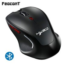 Bluetooth Wireless Mouse 2400DPI Adjustable USB  Ergonomics Optical Computer Mouse Built-in Battery For Computer Mouse PC Laptop цена