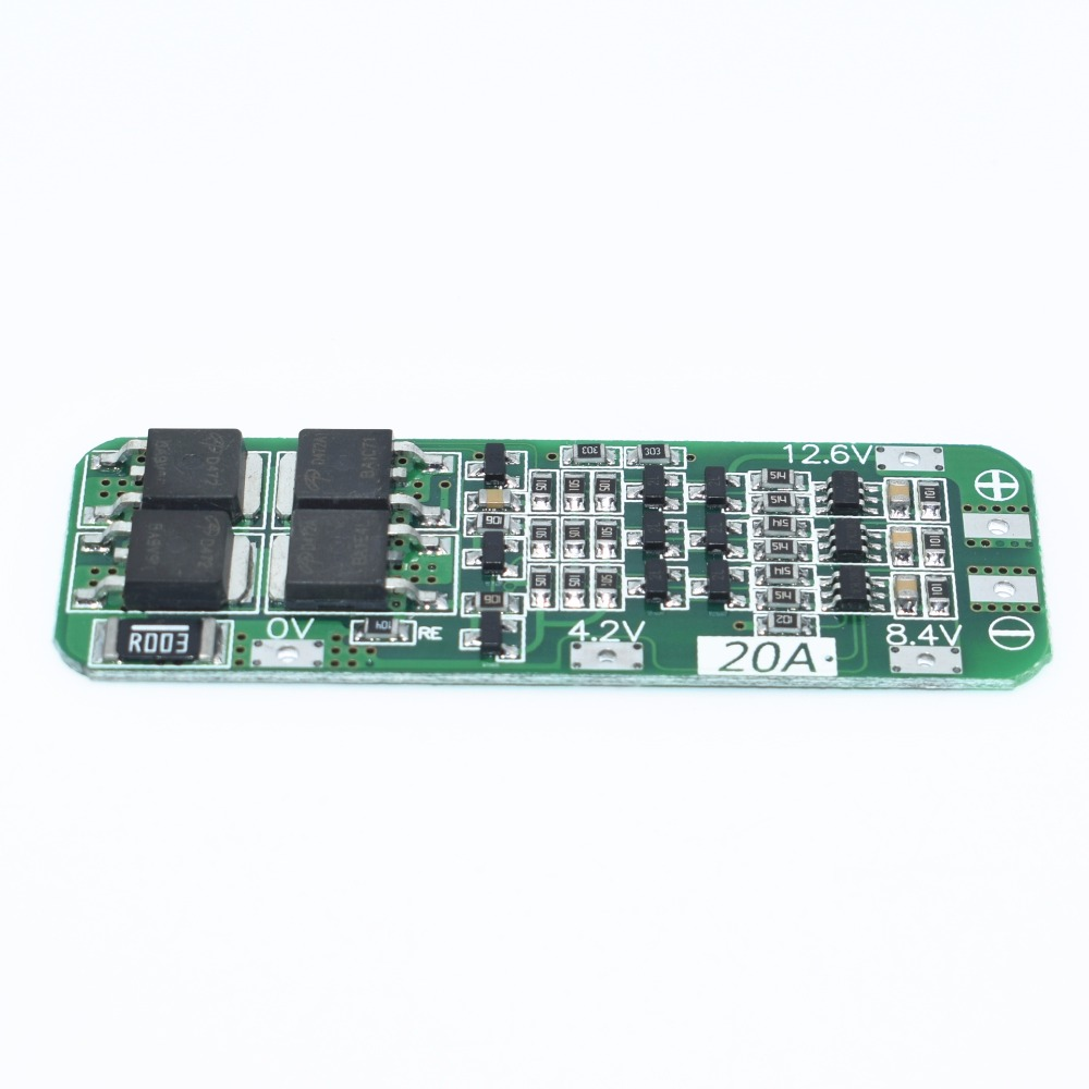New Arrival 4S 25A/30A/40A 14.8V Li-ion Lithium <font><b>18650</b></font> Battery BMS Packs PCB <font><b>Protection</b></font> Board Balance Integrated <font><b>Circuits</b></font> image
