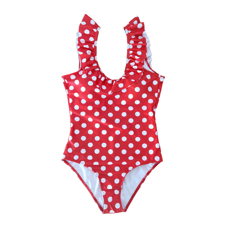 Summer Mother Daughter Son Swimwear Family Matching Outfits Mom Kids One-Piece Swimsuit Bikini Bathing Suit Son Shorts Swimwear (9)