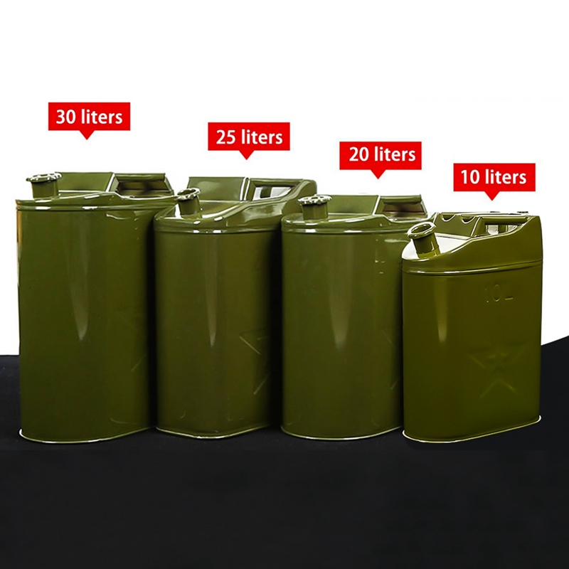 10l 20l 25l 30l Gasoline Fuel Tank Can Large Capacity Oil Drum Portable Petrol Barrel Car Suv Motorcycle Elegant And Sturdy Package