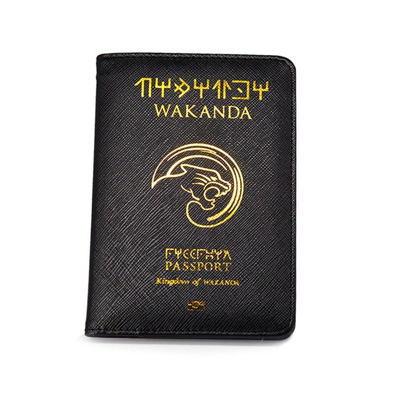 Wakanda Passport Cover Marvel Black Panther Passport Case Travel Cover The Passport Asgard Passport Holder Drop ShippingWakanda Passport Cover Marvel Black Panther Passport Case Travel Cover The Passport Asgard Passport Holder Drop Shipping