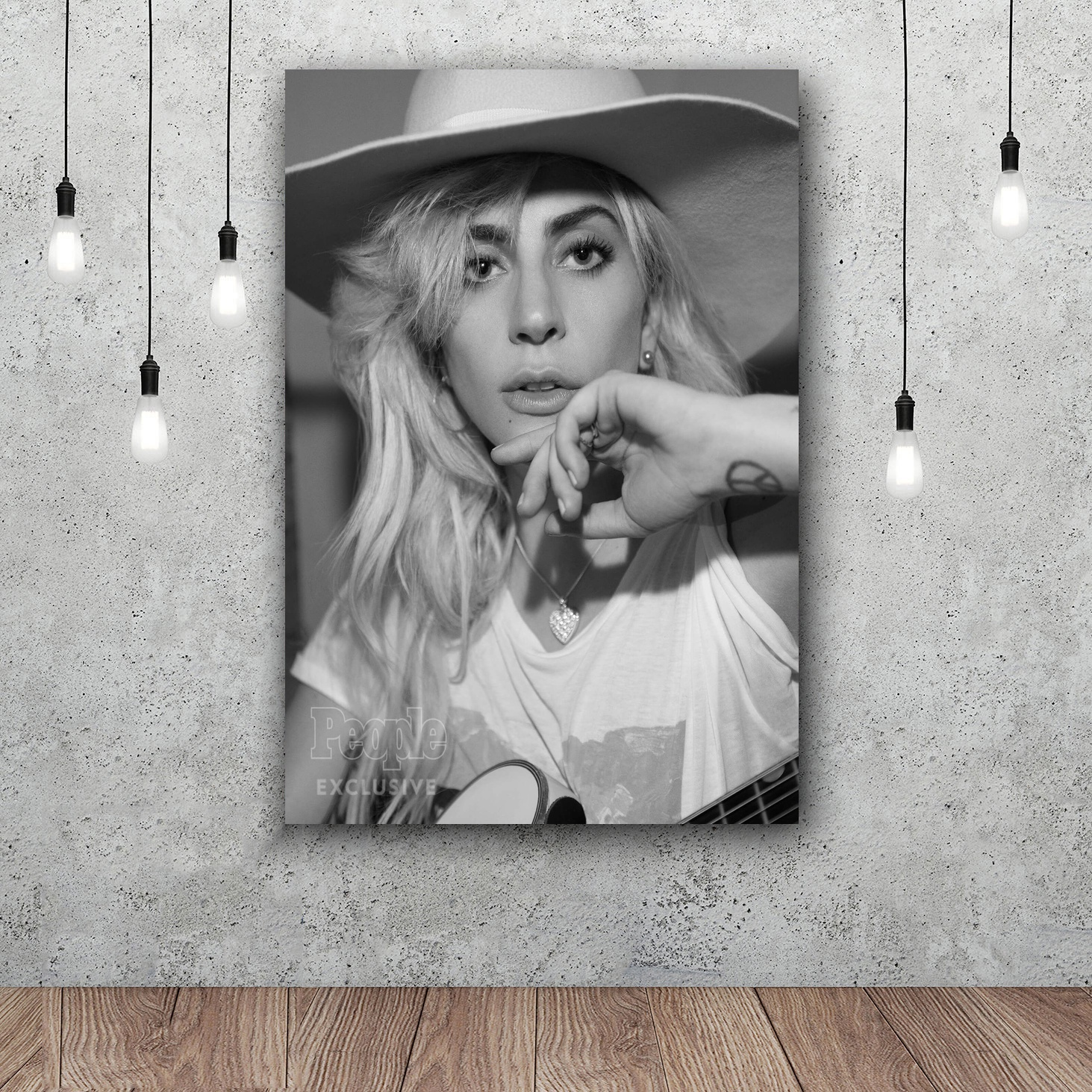 C1815 Lady Gaga Joanne World Tour 2017 Music Art Silk Poster 20x30 24x36inch
