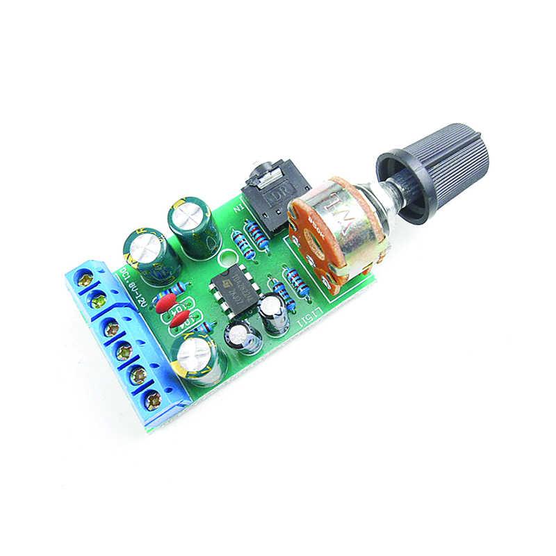 Módulo de placa de amplificador de áudio estéreo de arcada 2.0-12 v dc 1.8-para o gabinete mame arduino