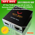 Free Shipping+100%original new SPT BOX For Samsung unlock, flash, repair IMEI, NVM, camera, network etc(with 30 cables set)