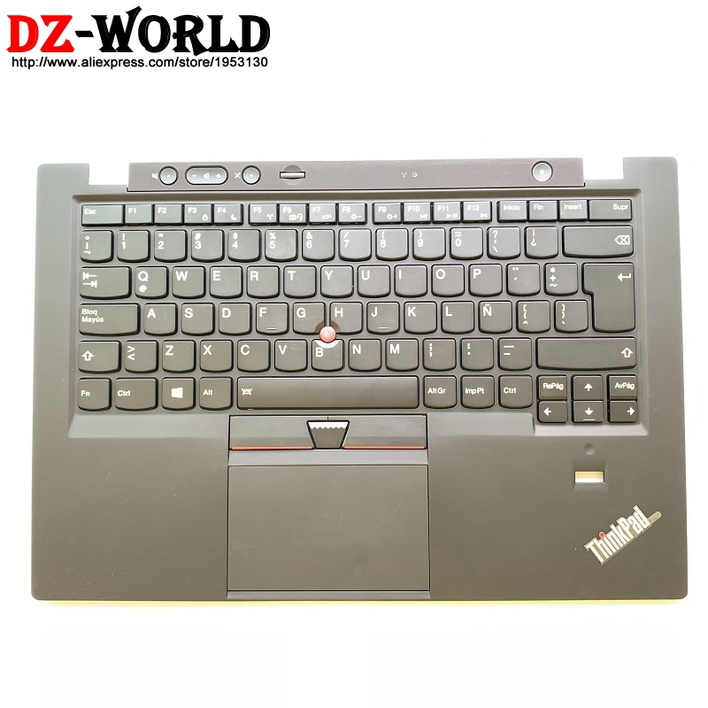 LAS Backlit Keyboard With Palmrest Touchpad For Lenovo Thinkpad X1 Carbon 1st Gen1 Backlight Teclado 00HT003 04X3604 04Y0789(China)