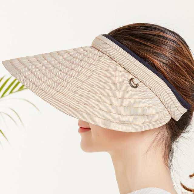6272b4458 US $7.43 38% OFF|COKK Chapeau Femme Summer Hats For Women Sun Visor Cap  Beach Hat Ladies Sun Hat Female Sports Headband Hairband Suncreen Visor-in  Sun ...
