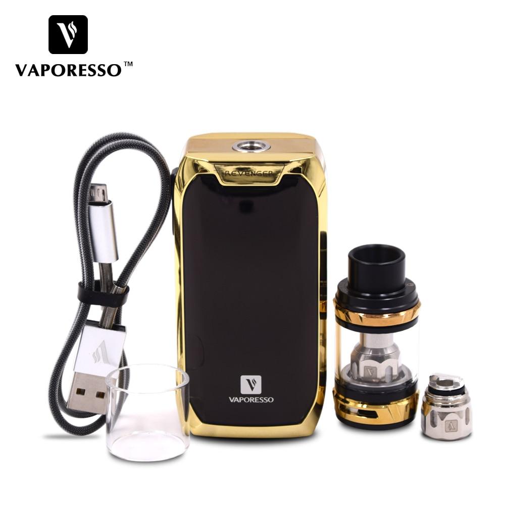 Original Vaporesso Revenger Kit E-Cigarette Kit Revenger Mod and NRG Tank 5ml 510 Drip Tip Revolutionary IML Design Vape Kit