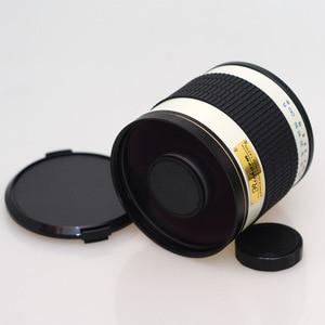 Image 2 - 500mm F/6.3 Telefoto ayna lens + T2 Montaj Adaptörü Halka Canon Nikon Pentax Olympus Sony A7 A7RII a6300 DSLR