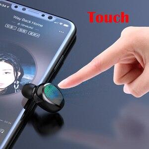 Image 4 - デジタルディスプレイのタッチイヤホン TWS ワイヤレスヘッドフォン Bluetooth ステレオ Bluetooth 充電ボックス電源銀行