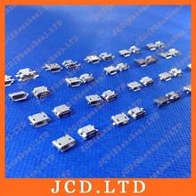 Cltgxdd Micro USB 5 P, 5 polig Micro usb buchse, 5 Pins Micro usb anschluss Heckladebuchse