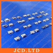 Cltgxddマイクロusb 5 p、5ピンマイクロusbジャック、5ピンマイクロusbコネクタテール充電ソケット