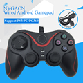 NYGACN NJP303 gamepad com fio para PS3/PC/PC360 Android controlador de jogo dual shock jogo handle joystick dualshock Freeshipping