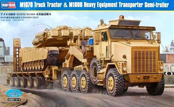 HOBBYBOSS MODEL 1/35 SCALE military models #85002 M1070