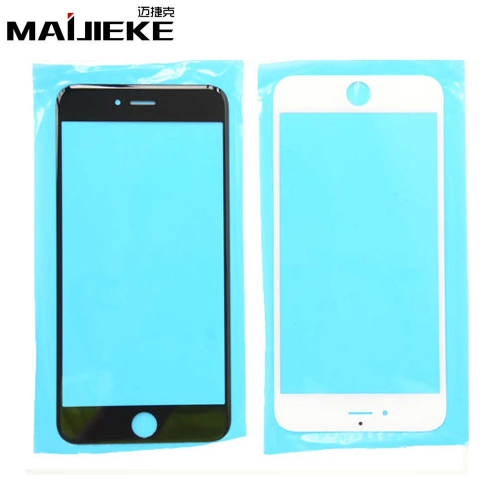 Image 4 - New MAIJIEKE Touch Panel Outer Glass For iPhone 8 7 plus 6s 6 plus 5 5s Front Glass Lens Screen Replacement UV Glue Tools Set-in Mobile Phone Touch Panel from Cellphones & Telecommunications
