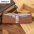 JINBAOLAI Fashion New Unisex Money Clips Top Quality PU Leather 2 Folded Wallet For Money Famous Brand Designer &22