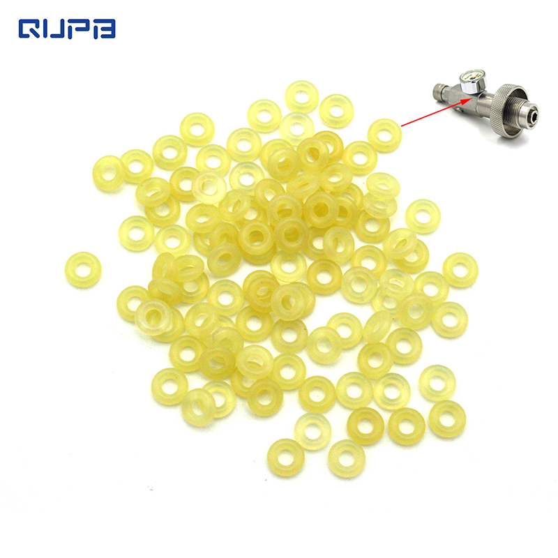 PCP HP Fill Station Push Valve O Rings 2.8*1.8 Polyurethane 90 Rigidity 10pcs/50pcs Pack Free Shipping  ORY001