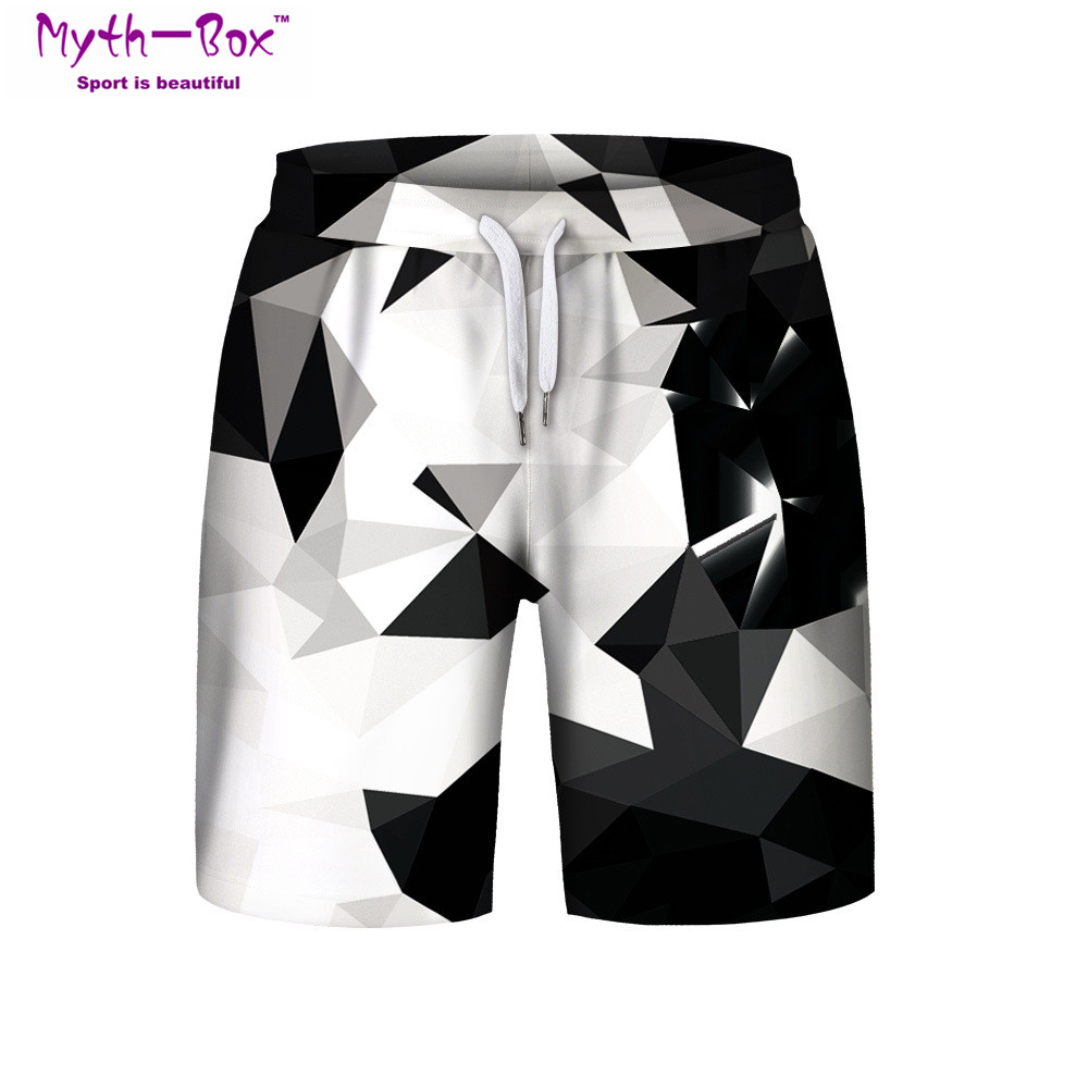 Summer Man's Beach   Shorts   Water Sport Pants 3D Printed Loose Workout Running   Shorts   S-3XL Surfing   Short   Male Surf   Board   Swimwear