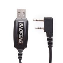 Original Baofeng USB Programming Cable+ Driver CD For Baofeng UV-5R BF-888S UV-82 UV-B5 GT-3 Two Way Radio Walkie Talkie UV5R