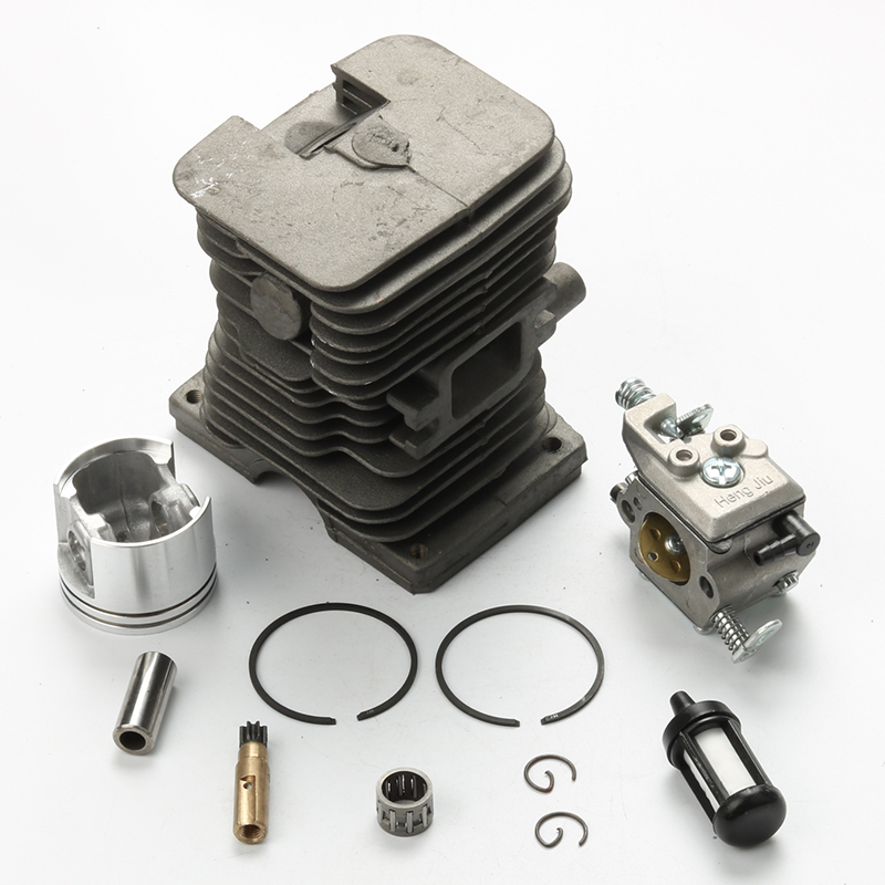 New 38mm Cylinder Piston kits with Fuel Filter Oil Pump Needle Bearing For Stihl MS180 018 Chainsaw 2017 new 38mm cylinder