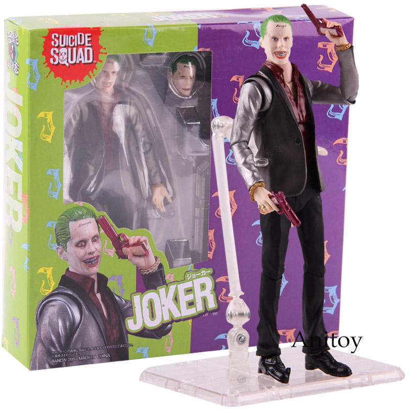 Suicide Squad Movie The Joker Action Figure Collectible PVC Toy Decor Gift 15cm