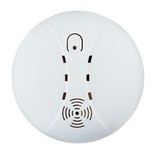 Бесплатная доставка! Беспроводная gsm сигнализация датчик дыма detetor для дома Пожарная сигнализация 433 МГЦ Бесплатная Доставка