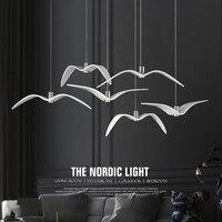 Reçine Brokis Gece Kuşlar siluet gökyüzü özgürlük kuş Martı kolye lamba