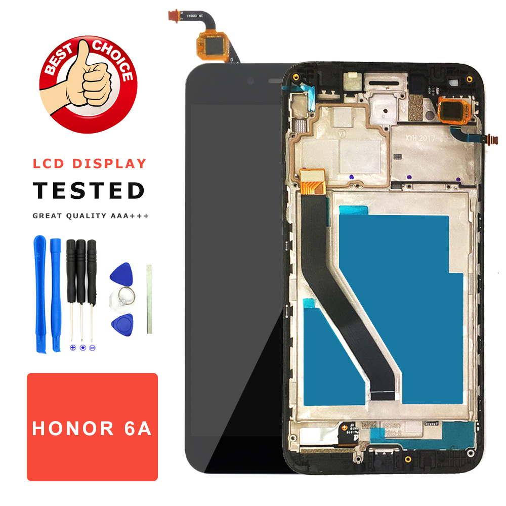 LCD for Huawei Honor 6A LCD Display + Touch Screen Digitizer Assembly with Frame Replace for Huawei Honor 6A Screen TL20LCD for Huawei Honor 6A LCD Display + Touch Screen Digitizer Assembly with Frame Replace for Huawei Honor 6A Screen TL20
