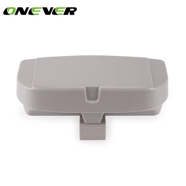 3aa66e26e1 Funda para gafas de coche parasol caja de gafas de sol Universal caja con soporte  para
