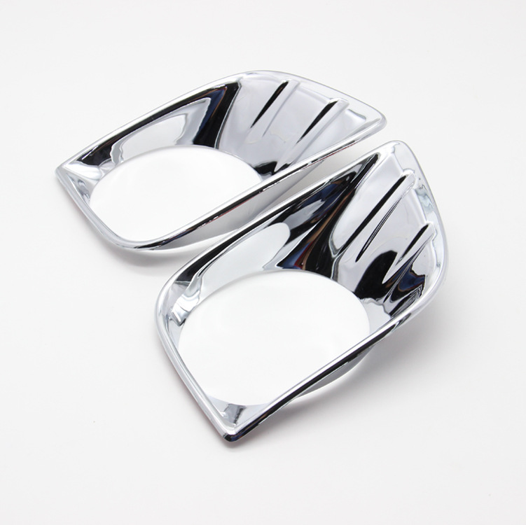 Prix pour ABS chrome Pour prado 150 accessoires antibrouillard avant lumière de couverture trim fit fj150 2010 2011 2012 2013 lampe capot de voiture style