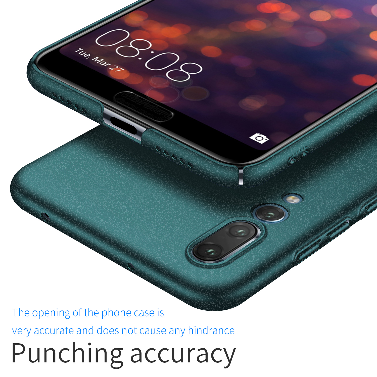 Image 3 - For Huawei P20 Pro P30 Pro Case, Ultra Thin Minimalist Slim Protective Phone Case Back Cover For Huawei P20 Lite-in Fitted Cases from Cellphones & Telecommunications