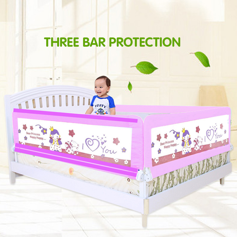 Baby Safety Bed Guard China Factory Direct Sales Of 15 M Dip Switch Fencing For Children Rails