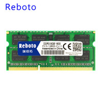 Reboto Brand New Sealed DDR3 1GB 2GB 4GB 1066MHZ Laptop PC3 8500 RAM Memory Compatible With