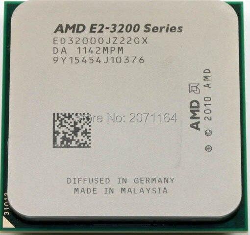 For AMD E2-3200 dual-core CPU 2.4G clocked Socket FM1 desktop cpu