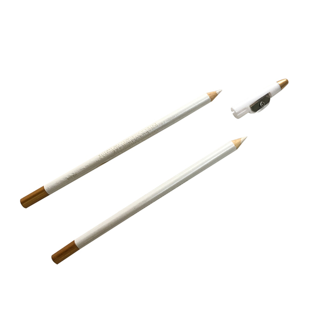 2pcs Microblading Eyebrow Pencil White Color Natural Long lasting Semi Permanent Makeup Tools Eyebrow Pencil Cosmetic Accessorie 1