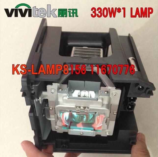 Electrified 5811116765-SU Replacement Lamp with Housing for VIVITEK D5000U D-5180HD D-5185HD D-5280U D4500 180 Days Warranty replacement projector lamp with housing 5811100560 s for vivitek d 5500 d 5510 page 1