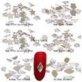 5 pcs Apoio Ouro Glitter Beleza Cristal Strass Strass De Vidro Muitos Estilos Para 3D Unhas Arte Mochila DIY Design Decorações