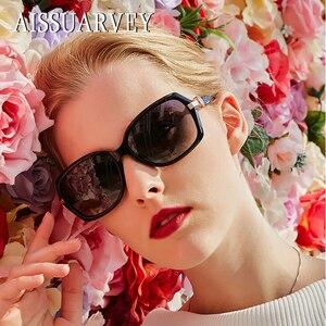 Image 2 - 2019 taklidi küçük asetat moda polarize güneş gözlüğü kadınlar için en kaliteli kızlar bayan marka gözlük sürüş güneş gözlüğü