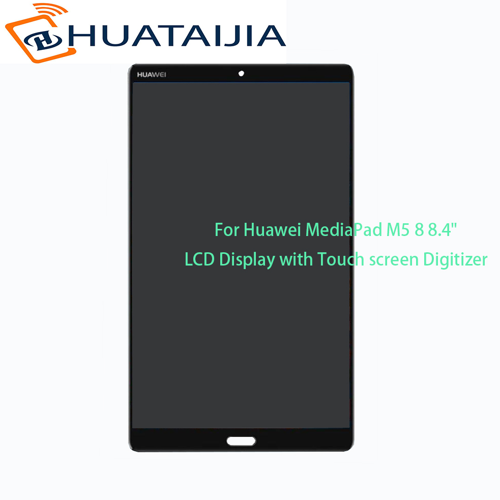100% Test Ok For Huawei MediaPad M5 8.4 SHT-AL09 SHT-W09 LCD Display and with Touch Screen Digitizer Assembly for MediaPad M5 8 prova perfetto new women pumps high heels rhinestone flower wedding shoes woman sexy high heels party shoes sweet princess shoes