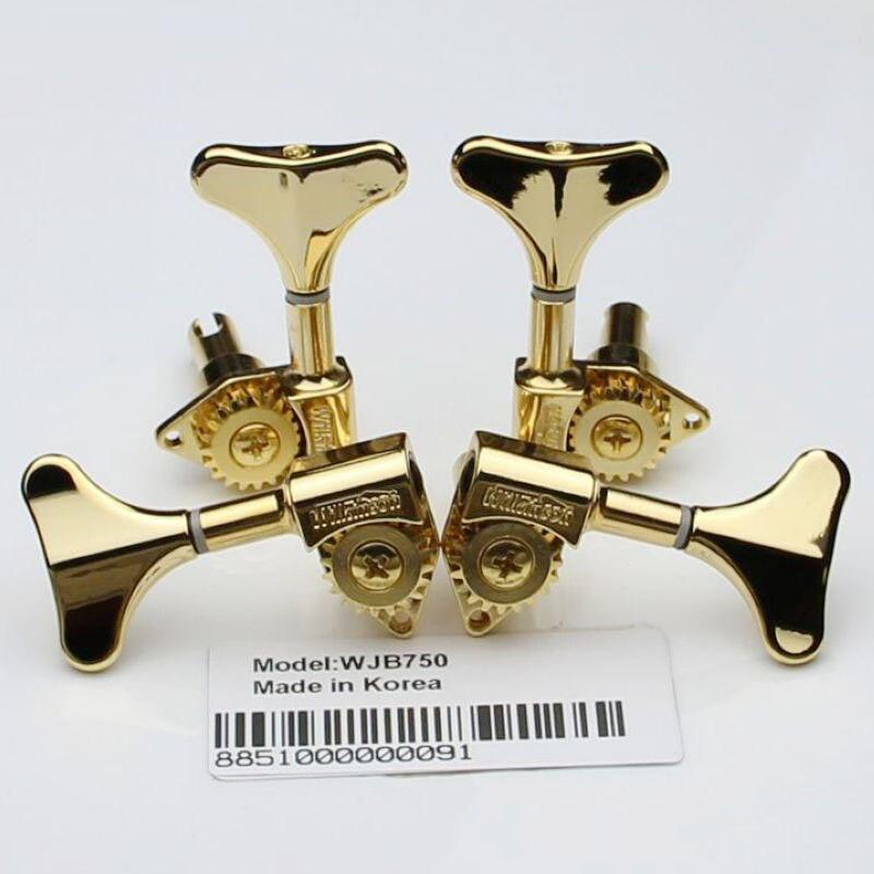 Gold WJB 750 Glod Bass Guitar Machine Heads Open Gear New