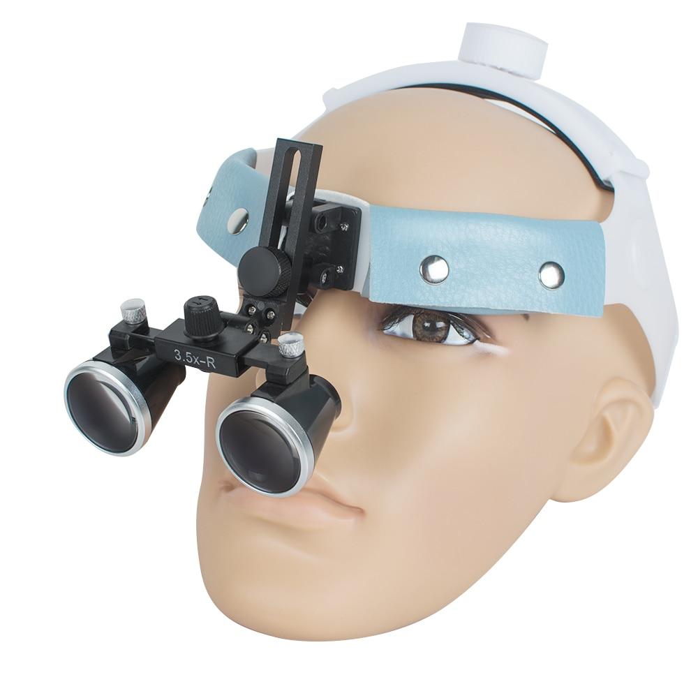 2018 Hot Sale 3.5X-R Dental Surgical Medical Headband Binocular Loupes Glasses Magnifier Bullet Points2018 Hot Sale 3.5X-R Dental Surgical Medical Headband Binocular Loupes Glasses Magnifier Bullet Points