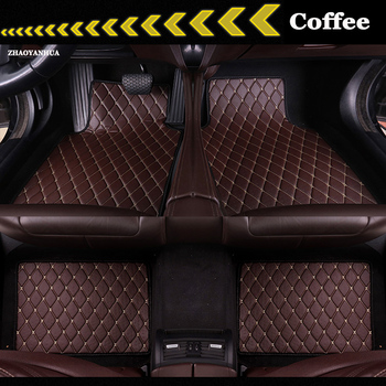 ZHAOYANHUA Custom fit Universal car floor mats for All Models BMW 3 series E90 E91 E92 E93 318d 320d 320i 325i 328 carpet liners image
