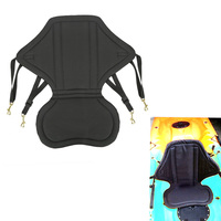 Deluxe Adjustable Fishing Canoe kayak Backrest Seat Cushion Rowing Fishing PVC Boat Accessories