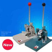 NEW YJ 610 Manual Round Corner Machine R6 and R10 Corner Blade Cast Iron Round Corner Machine With Pressure Foot Paper Cutter