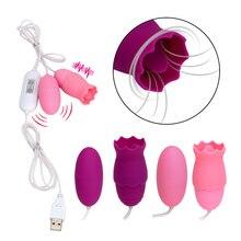 G Spot Vibrator Oral Clitoris Stimulation Female Masturbation Sex Toys