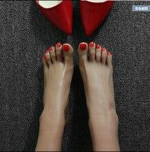 Ems gratuite taille environ 230 mm 1 pcs femmes silicone pieds sex toy faux pieds footfetish filles pied de culte jouets moule
