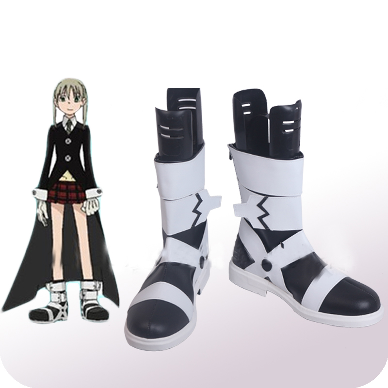 Soul Eater MAKA ALBARN Cosplay Shoes Boots Halloween Carnival Party Cosplay Costume Accessories