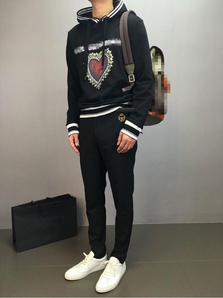 Hommes Style Mode Partie De Luxe Pantalon Vêtements D1241 2018 Design Marque Piste Européenne 4qqOvdxH