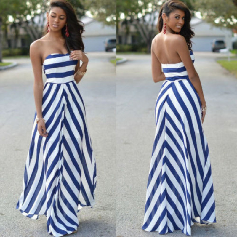 HTB1kPRZahz1gK0jSZSgq6yvwpXav Womens Off Shoulder Striped Maxi Dress Party Long Maxi Beach Sundress Sexy Sleeveless Backless Dress Summer Dress Womens 2019