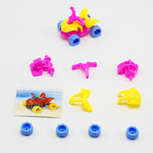 5pcs/lot DIY Assemble Beach Motorcycle Self-Locking Bricks Toys for Kids Gift